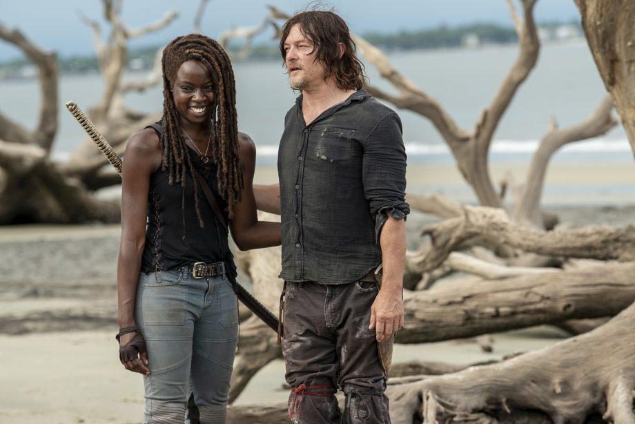Daryl et Michonne The Walking Dead lors de la Saison 10