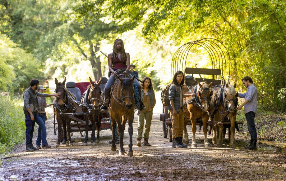 Michonne va quitter The Walking Dead lors de la Saison 10